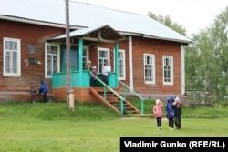 Школа в деревне Скородум, Коми