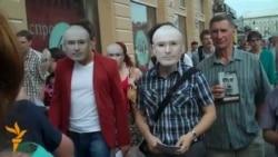 Акция в поддержку Ходорковского в Петербурге