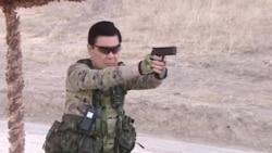 Бердымухамедов на боевых учениях