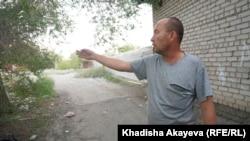Водный ауылының тұрғыны Василий Чупин.