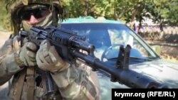Учения подразделения Сил специальных операций ВСУ в Херсонской области, 28 октября 2020 года