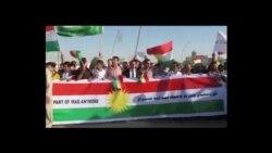 تظاهرة تطالب باستقلال كردستان