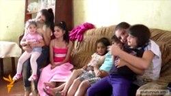 Գասպարյանների ընտանիքում 10 երեխաներից յուրաքանչյուրը երազում է սեփական անկյունն ունենալ