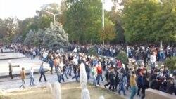Бишкек: после праздничного намаза