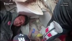 Izmir: Spašena četverogodišnja djevojčica 90 sati nakon zemljotresa