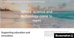 A North American Foundation for Science and Technology weboldala