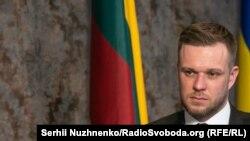 Габріелюс Ландсбергіс, міністр закордонних справ Литовської Республіки