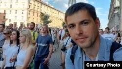Білоруський кореспондент «Настоящего Времени» – Роман Васюкович в Мінську, архівне фото