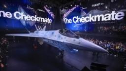 جنگندهٔ سوخو کیشومات در مراسم افتتاحیه، ۲۰ ژوئیه ۲۰۲۱