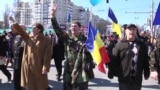 Moldovans March For Unification With Romania