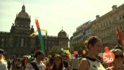 راهپیمایی همجنسگرایان و دگرباشان جنسی در پراگ