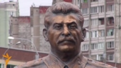 New Stalin Monument Attracts Flowers, Vandals