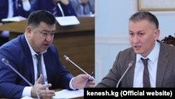 Нурбек Мурашев и Исхак Пирматов.