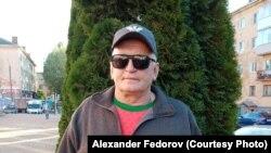 Осужденный за экстремизм Александр Федоров