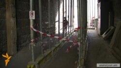 Հարակից շինարարության պատճառով Դեղատան 4-ի բնակիչները ամեն օր կյանքը վտանգելով են տուն մտնում