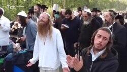 Еврејски аџии блокирани на украинската граница