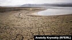 Сімферопольське водосховище, грудень 2020 року