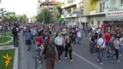 Не може пред Влада, не може пред МВР, протестот пред Собрание