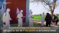 Talibani se bore protiv korona virusa