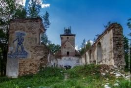 Руины кирхи в Зеленополье