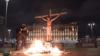 Павел Крисевич, акция у здания ФСБ 5.11.2020