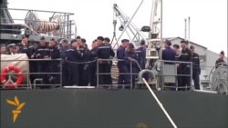 Russian Sailors Arrive In France For Military Training