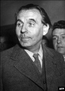 لوئی فردینان سلین در اکتبر ۱۹۵۱