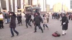 Москвичи на марше