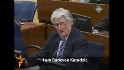Karadzic: 'I Should Be Rewarded'