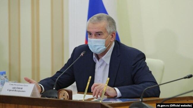 Сергей Аксенов, российский глава Крыма