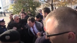 Opposition Politicians Arrested Outside Kosovo's Parliament