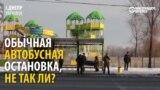 «Умная» остановка вУкраине