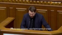 «Radikal» Lozovoy qırımtatarca laf etmege başladı (video)