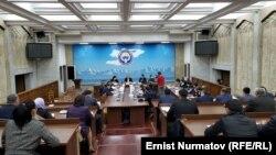 Жогорку Кеңештин Экономикалык жана фискалдык саясат комитетинин жыйыны. 2020-жылдын 11-ноябры.