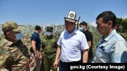 Улукбек Марипов 21-июлда Баткенге эки күндүк сапар менен барды.