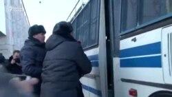 Милиция помогла разойтись участникам митинга в Бишкеке