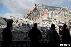 Новые разрушения в секторе Газа. 13 мая 2021 года