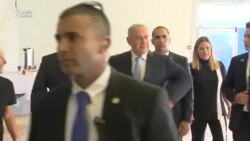"""Netanyahu """"Toyuq rəqsi"""" elədi"""