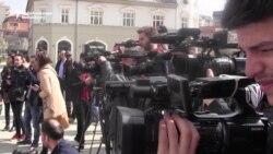 Protesters Allege Kosovar Prime Minister Threatened Journalist