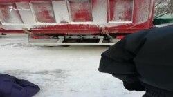 Иркутян, протестующих против строительства гостиницы у жилого дома, разогнали при помощи КамАЗов и ЧОПа