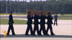 Bodies Of MH17 Crash Victims Arrive In Netherlands