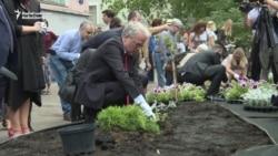 Politkovskaya Garden Opens In Moscow