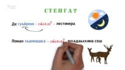 Нохчийн грамматика 3 минотехь (иссалгIа дарс, цIердешан меттигниг дожар)