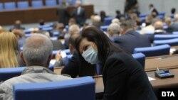 Седница на Парламентот на Бугарија