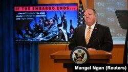 مایک پومپئو میگوید آمریکا از ایران میخواهد که مثل یک کشور عادی رفتار کند.