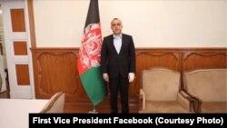 Afganistanski potpredsjednik Amrullah Saleh nakon što je preživio bombaški napad, Kabul, 9. septembar
