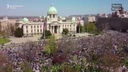 Protest ekoloških aktivista u Beogradu