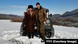 Аслан Габоев с сыном