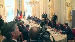 Меркель, Порошенко, Путин и Олланд встречаются в Париже