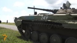 Separatist Forces Gather For MH17 Event